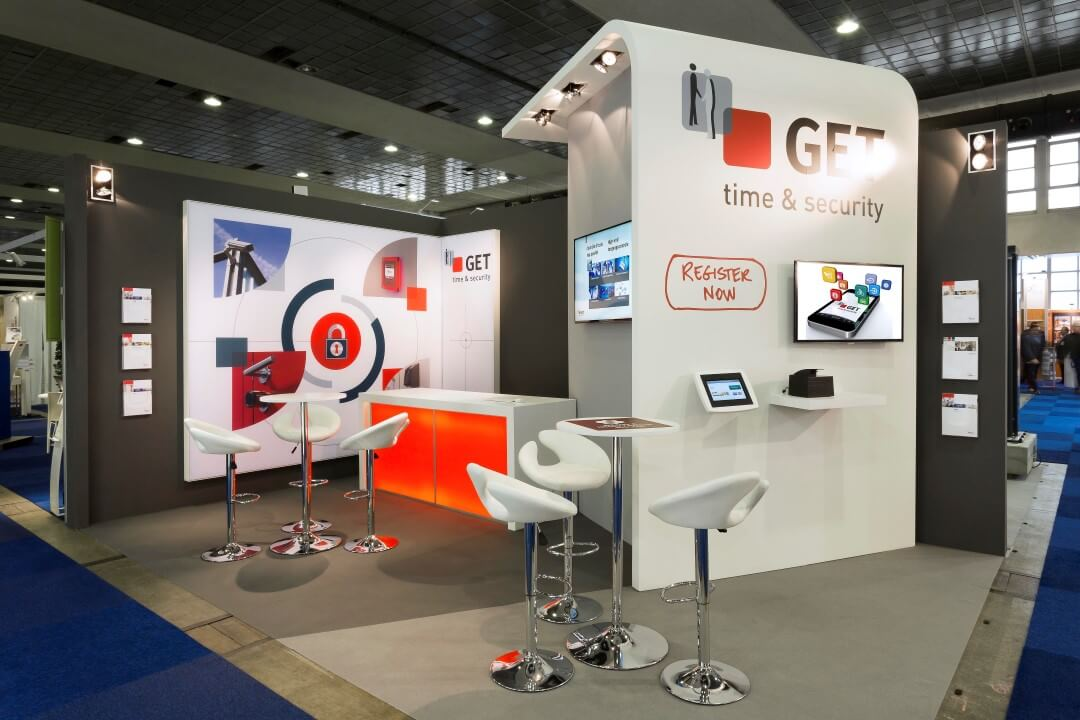 Stand voor security en beveiliging | © www.Expopoint.be