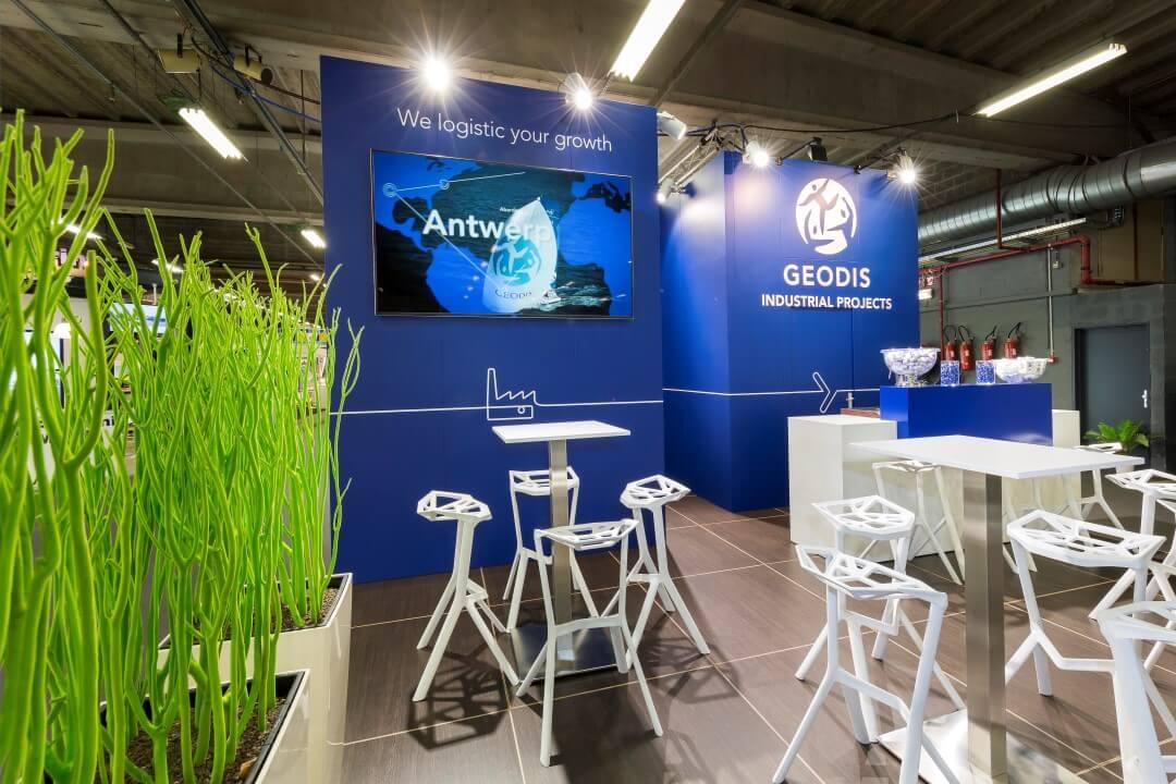 Houtbouw voor een beursstand zorgt voor extra cachet | © www.Expopoint.be