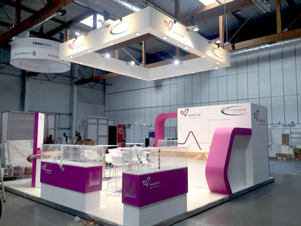 Standenbouwer voor het buitenland | © www.Expopoint.be