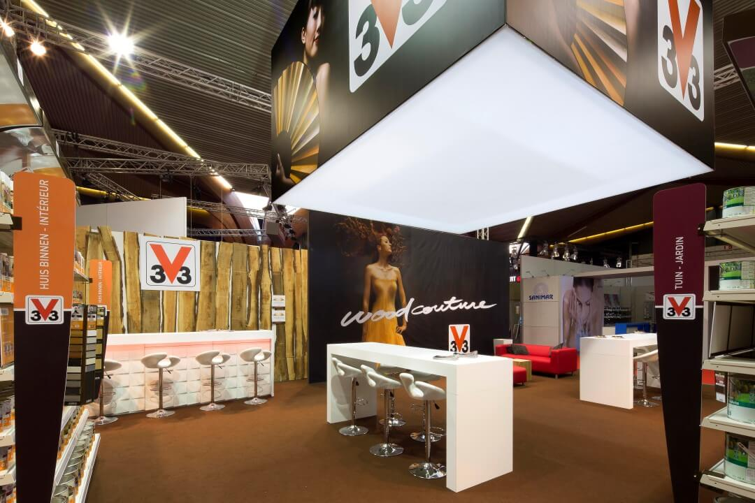 Stand voor houtproducten voor binnen en buiten | © www.Expopoint.be