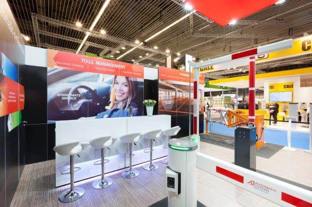 Herbruikbare modulaire beursstand | © www.Expopoint.be