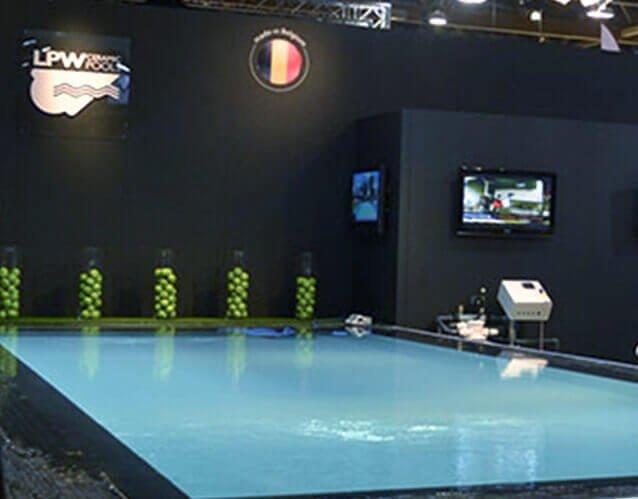 Zwembad op een beurs | © www.Expopoint.be