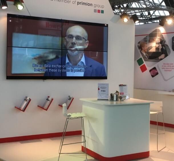 tv scherm voor beursstand | © www.Expopoint.be